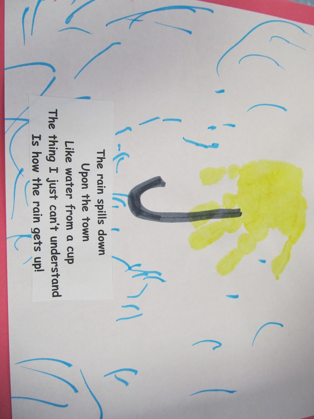 We Love A Party Handprint Calendar Part 1