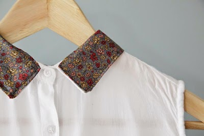 Tunear cuello de camisa o blusa tutorial