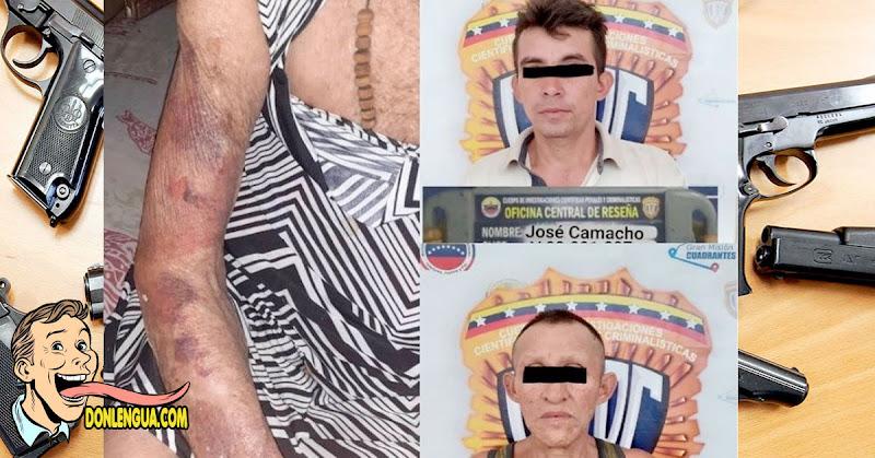 Robaron violentamente a una abuela de 90 años y la dejaron morada a golpes