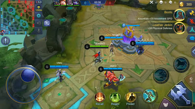Tampilan Drone Map View Mobile Legends