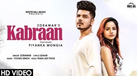 Kabraan Punjabi Song Lyrics in Hindi, Zorawar