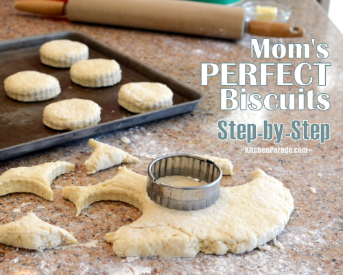 How to Make Perfect Biscuits ♥ KitchenParade.com, Step-by-Step Photos & Detailed Instructions + 8 Tips for Extra-Good Biscuits.