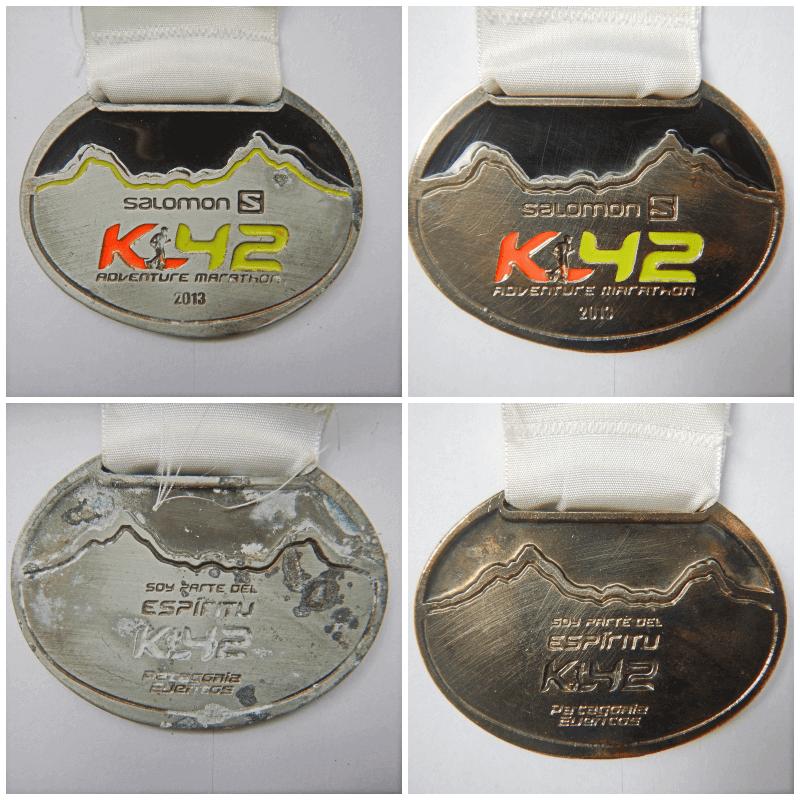 como limpar medalhas de corridas