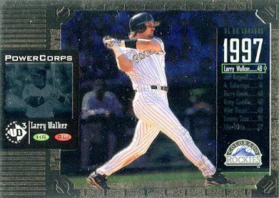 1998 LARRY WALKER EXT SLU- Loose with Card- Colorado Rockies Starting Lineup