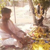 PerfoemedNavaratri Shanthi Puja Images