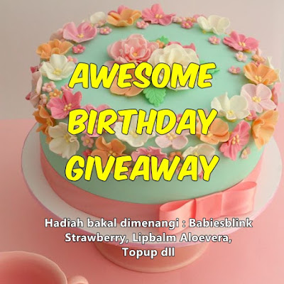 Awesome Birthday Giveaway