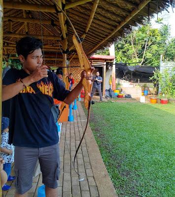 Wahana Archery Taman Herbal Insani