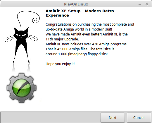 Epsilon's Amiga Blog: AmiKit XE on Windows, MacOS and Linux