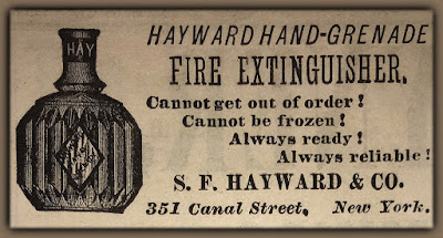 hayward hand grenade fire extinguisher