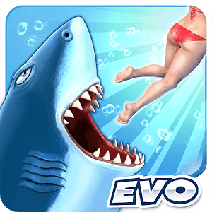 Hungry Shark Evolution - VER. 8.1.0 Infinite (Coins - Gems) MOD APK
