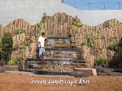 Taman Tebing Minimalis 20 Gambar Relief Buatan