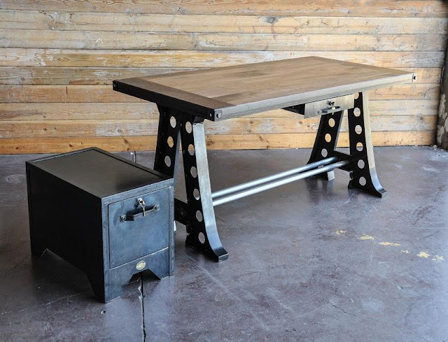 best buying old industrial office furniture for sale