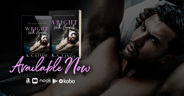Wright with Benefits by K.A. Linde Available Now