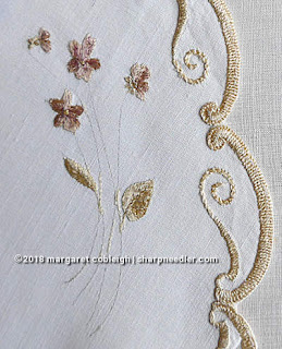 Society Silk Violets: Missing stems from the authentic antique version of the Society Silk violets