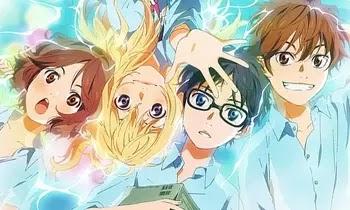 Shigatsu wa Kimi no Uso مشاهدة وتحميل جميع حلقات كذبتك في ابريل من الحلقة 01 الى 22 مجمع