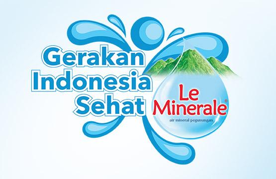 Gerakan Hidup Sehat Le Minerale - www.shovya.com