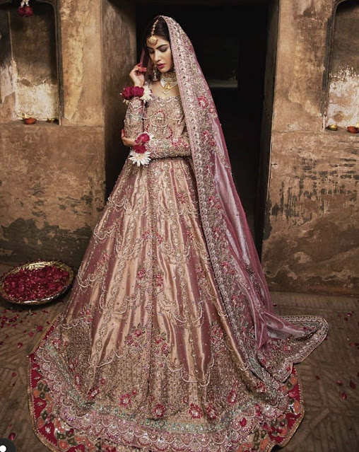 Bridal dress for South Asian bride