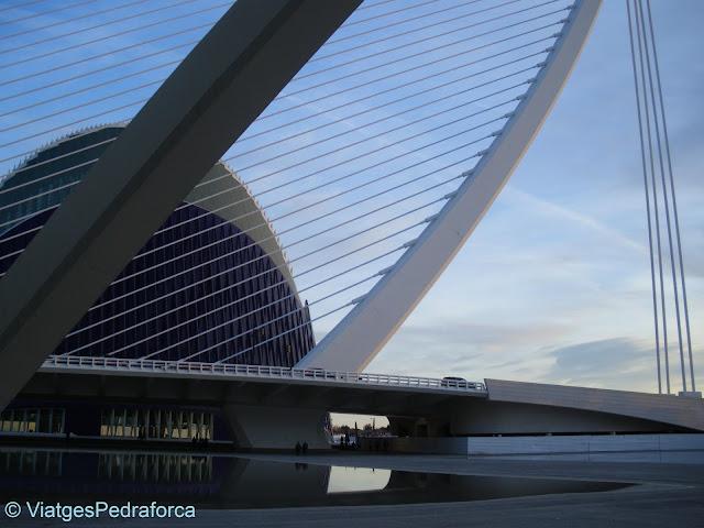 València, Comunitat Valenciana, Pont de Calatrava, Ciutat de les Arts i les Ciències