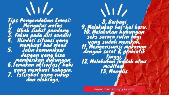 tips pengendalian emosi