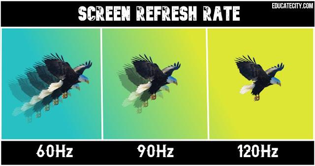 Screen Refresh Rate: 60Hz vs 90Hz vs 120Hz