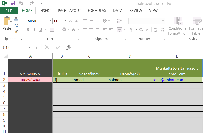 How to write data in existing excel using NODE JS