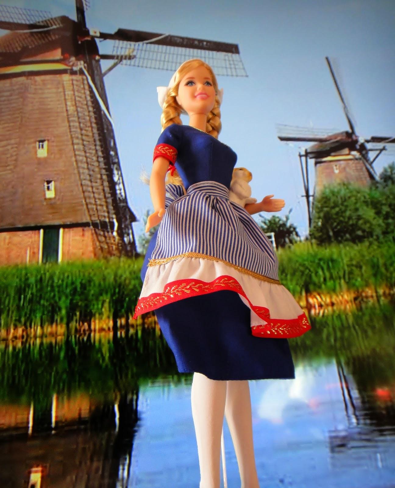 Mis Mu Ecas Barbie De Holanda