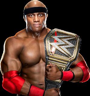 WWE Champion Raw Lashley Hurt Business MVP MIZ