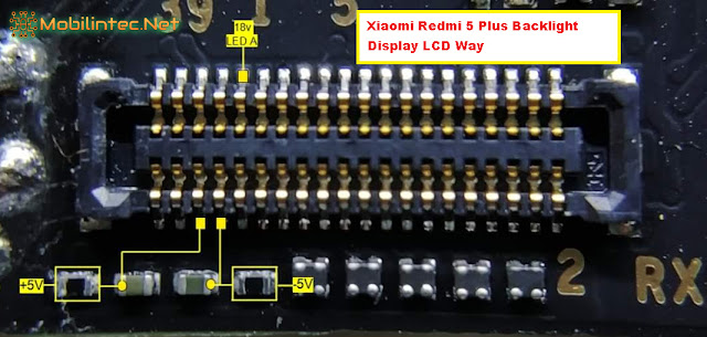 How To Fix Xiaomi Redmi 5 Plus No Backlight LCD Display