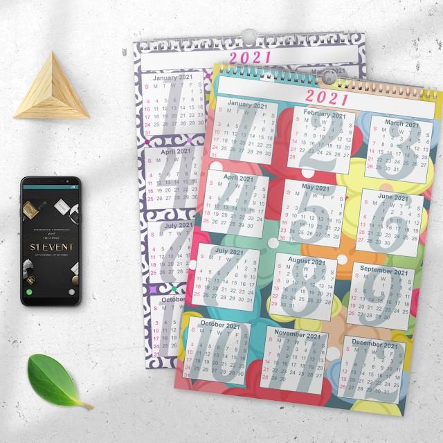 Free Calendars 2021