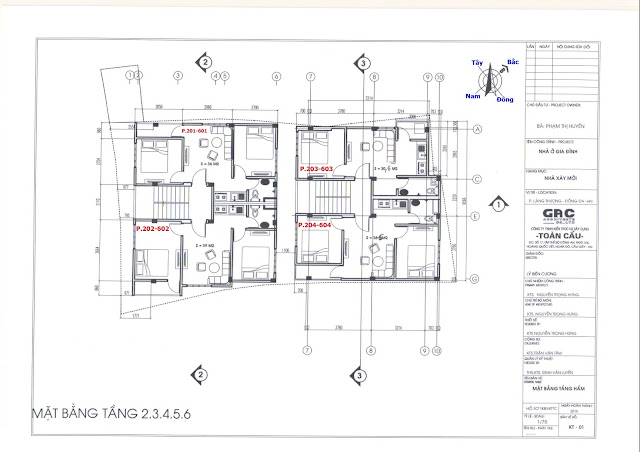 thiết kế chung cư minh đại lộc 4