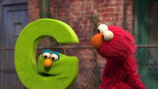 Sesame Street Episode 4306 The Letter G Song, elmo, letter g