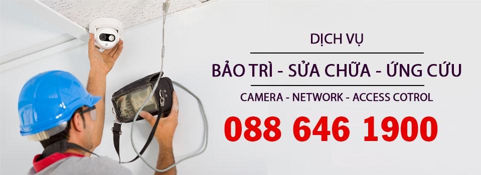 Dịch vụ sửa camera, bảo trì hệ thống Camera tại Giồng Trôm
