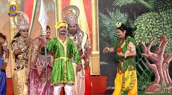 देखे दूरदर्शन पर अयोध्या से संपूर्ण रामलीला का सीधा प्रसारण  raamleela on Doordarshan
