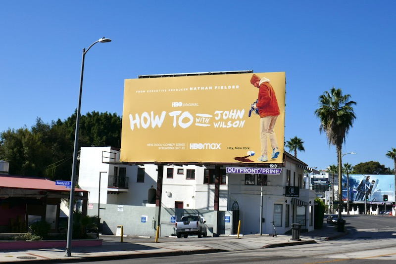 How To John Wilson HBO billboard