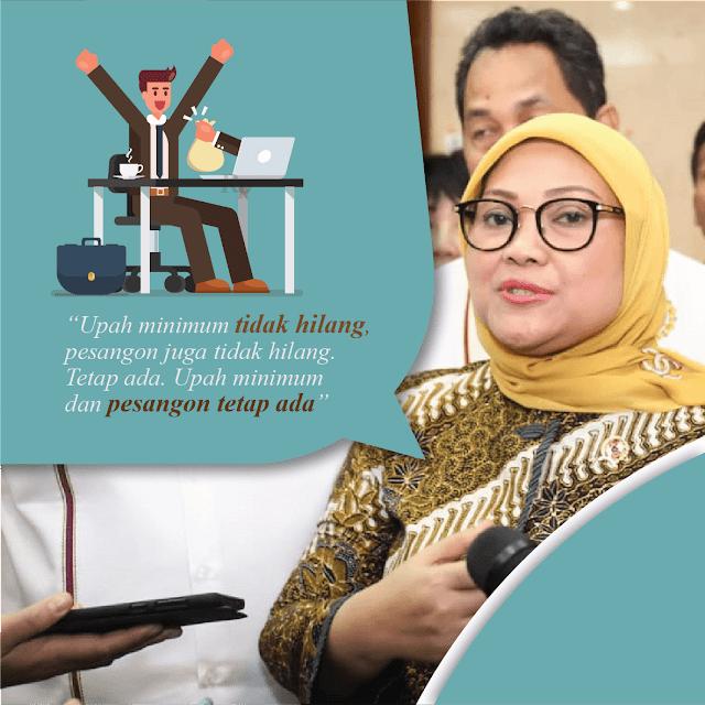 Upah Minimum dan Pesangon TIDAK DIHAPUS dalam Omnibus Law!