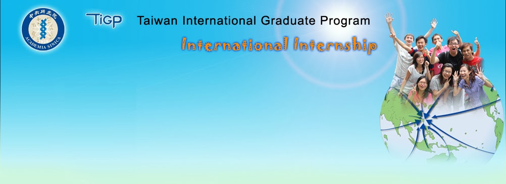 Taiwan International Graduate Program (TIGP) International Internship Program (TIGP-IIP)