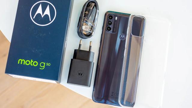 سعر ومواصفات Motorola Moto G50 - موتورولا موتو جي 50 مراجعة شاملة