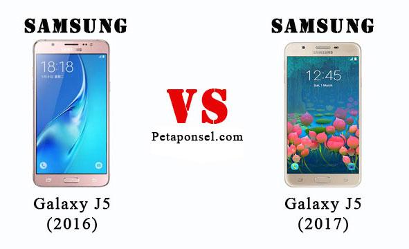 tanya ihwal perbandingan Samsung Galaxy J Nih Perbandingan Samsung J5 (2017) VS Samsung J5 (2016)