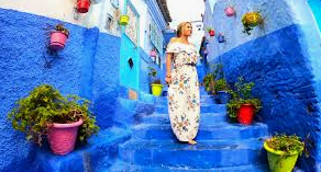 Destination Idea for Traveling Abroad - The Sapphire Town Of Chefchaouen, Morocco