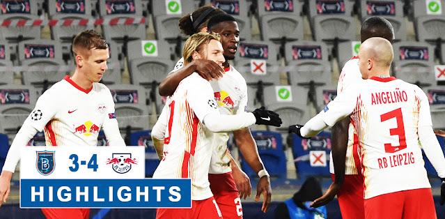 İstanbul Başakşehir vs RB Leipzig – Highlights