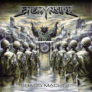 """Το βίντεο των Enemynside για το """"Frozen Prison Cell"""" από το album """"Chaos Machine"""""""