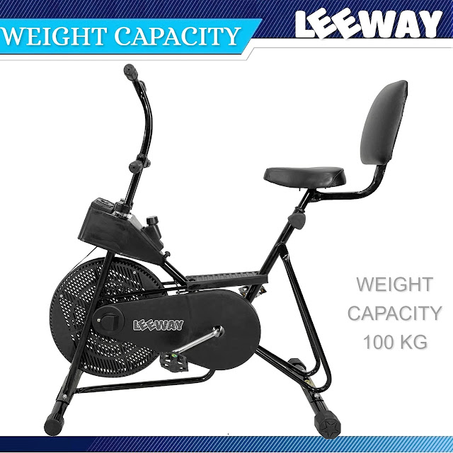 Leeway Exercise Cycle withBack Support And Twister For Home Use