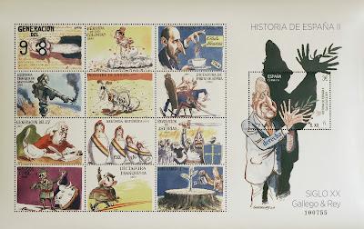 HUMOR GRÁFICO HISTORIA DE ESPAÑA S.XX