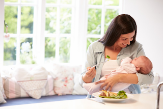Fulfillment of Nutrition with Breastfeeding Foods