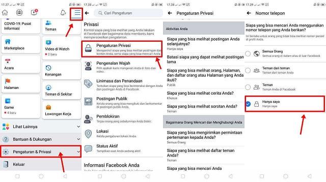 Cara Mengunci Akun FB