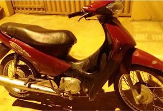 Polícia age rápido e recupera motocicleta