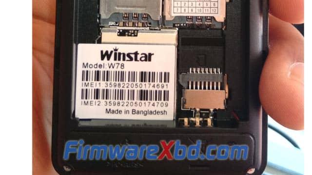 Winstar W78 SC6531E Flash File Download