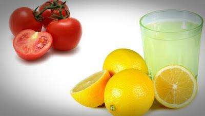 Tomato and Lemon Juice