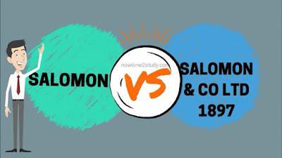 Salomon vs Salomon & CO LTD (1897)