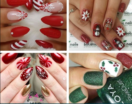 Make Up and Nail Art Merry Christmas Images